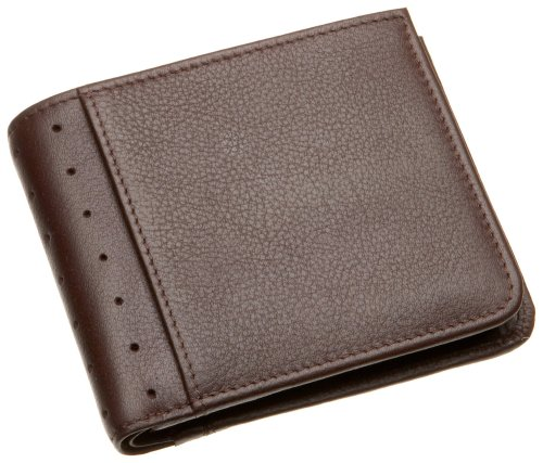 Cross Autocross AC195-9 Men's Money Wallet Collection Bifold Coin Wallet (Brown)