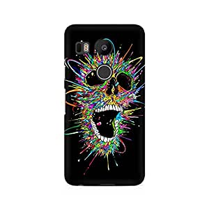 Mobicture Skull Abstract Premium Printed Case For LG Nexus 5X