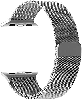 Penom 38mm Stainless Steel Mesh Loop Milanese Band