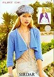 Sirdar Flirt DK Ladies Knitting Pattern 9272