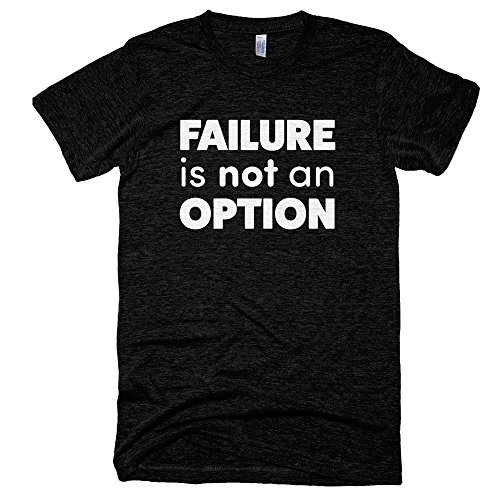 Startup-Drugz-Failure-Is-Not-An-Option-Male-T-Shirts