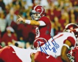 AJ McCarron Autographed Alabama Crimson Tide 8x10 Photo - 2x NCAA National Champion - Autographed College Photos at Amazon.com