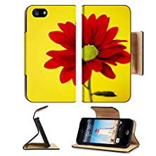 buy Apple Iphone 5 Iphone 5S Flip Case Red Spray Chrysanthemum On A Yellow Background Image 24339664 By Msd Customized Premium Deluxe Pu Leather Generation Accessories Hd Wifi Luxury Protector