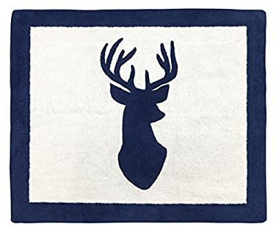 Boys Accent Floor Rug Bedroom Décor for Woodland Deer Kids Bedding Collection
