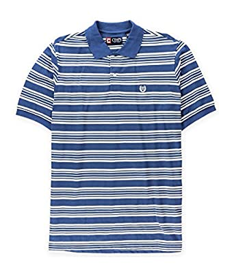 Chaps Mens Striped Logo Rugby Polo Shirt At Amazon Men S