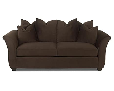 Klaussner VOODOO Sofa, Chocolate