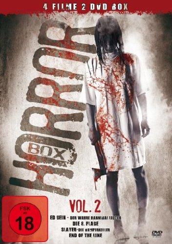Horror-Box - Vol. 2 *4 Filme auf 2 DVDs!*
