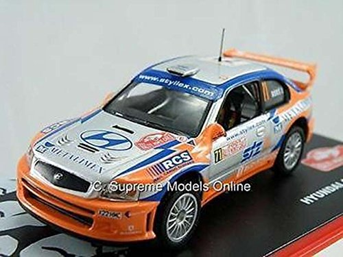 hyundai-accent-wrc-2004-rally-car-model-beres-stary-1-43-silver-orange-n21-