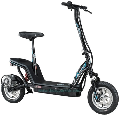 Currie Technologies Electric Scooter Black