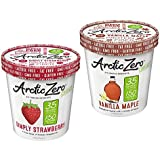 ARCTIC ZERO Fit Frozen Desserts - 6 Pack - Simply Strawberry and Vanilla Maple Creamy Pints