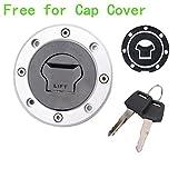 Aimeechow Fuel Cap key set For HAYABUSA GSXR 1300 GSF250 Suzuki GSXR600-750 1000 SV650S+Cap cover