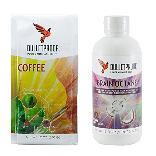 Bulletproof Upgraded Coffee Starter Kit- Brain Octane Edition (Bullet Coffee Oil compare prices)