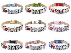 9x One Direction Wristbandsbracelet I Love 1d Harry 9different Colors