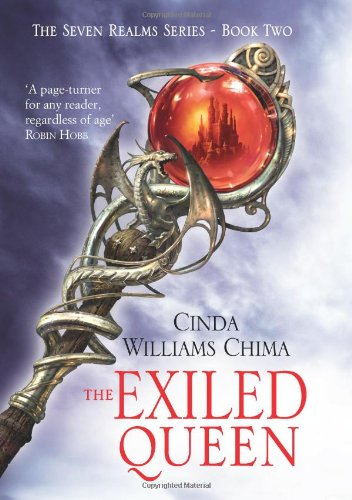 Cover of Exiled Queen (The Seven Realms Series)