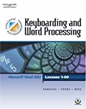 img - for Keyboarding & Word Processing, Lessons 1-60 (with CD-ROM) book / textbook / text book