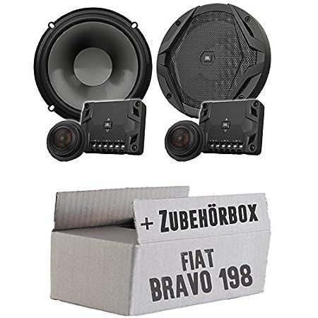 Fiat Bravo 198 Heck - JBL GX600C | 2-Wege | 16cm Lautsprecher System - Einbauset