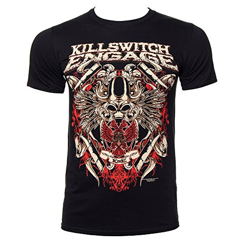 T Shirt Killswitch Engage Bio War (Nero) - Large