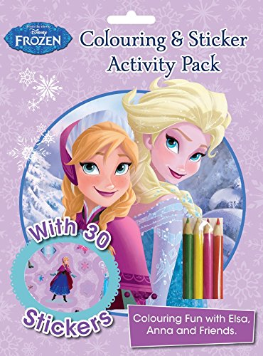 Disney Frozen Colouring And Sticker Activity Pack Over 30