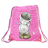 Carrots Girl's Draw String Bag - Berry