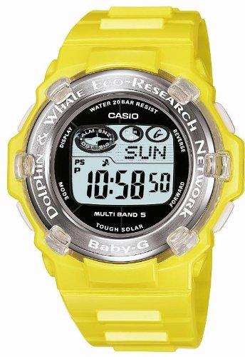 CASIO (カシオ) 腕時計 Baby-G Reef タフソーラー電波時計 MULTIBAND5 Dolphin&Whale イルカ・クジラ モデル BGR-3001K-9JR