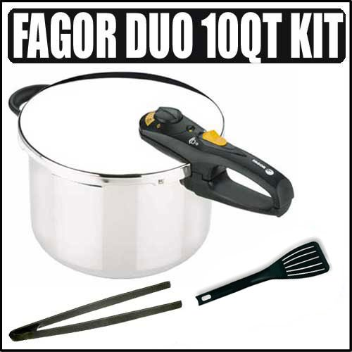 Fagor professional duo 10 qt pressure cooker and canner overview