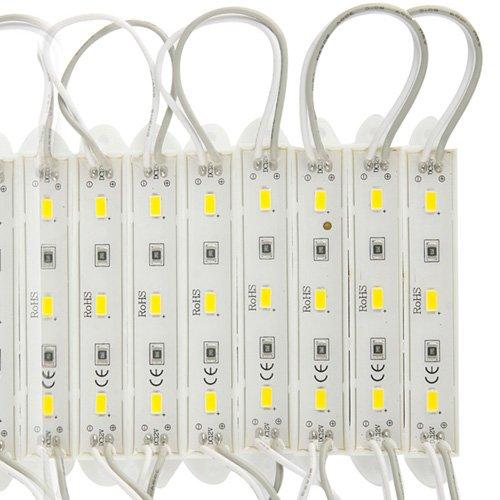 Generic 20 Line 3 Led Warm White Light Led 5630 Smd Module Light Strip Dc 12V