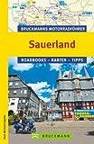 Bruckmanns Motorradführer Sauerland: Roadbooks - Karten - Tipps