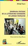 Panorama critique de la littérature tchadienne en langue française...