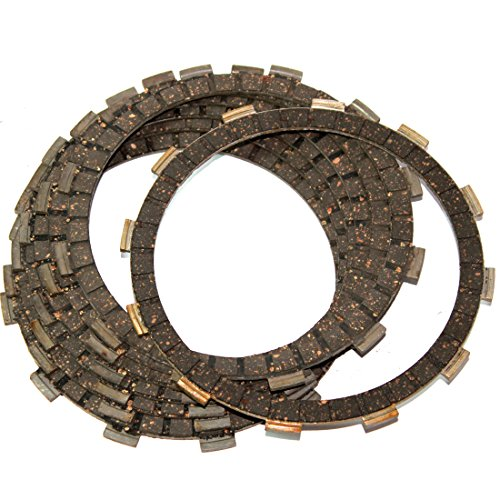 CLUTCH FRICTION PLATES Fits HONDA CX500D Deluxe 1979-1981 clutch friction