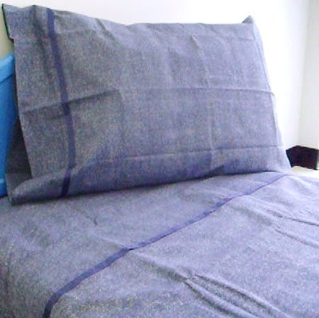 Disney Blue Gray Denim - 3pc Bedding Twin Bed Sheet Set