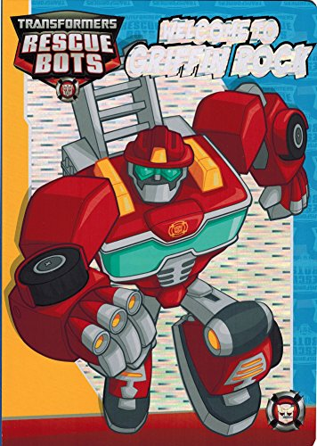 "Transformers Rescue Bots Board Book: ""Welcome to Griffin Rock"""