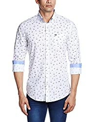 Arrow Sports Men's Casual Shirt  (8907259809663_ASRS3050_40_White)