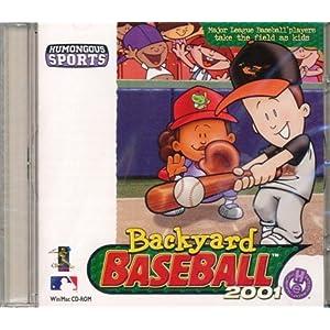backyard baseball 2001 video games