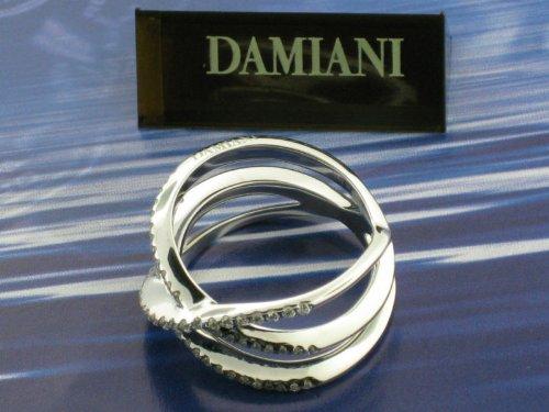 Damiani - Bovary Ring Diamonds/White Gold New!