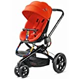 Quinny Britto Moodd Black Pushchair (Red Revolution)