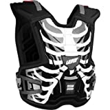 Leatt Adventure Lite Vest Youth Roost Deflector MX/Off-Road/Dirt Bike Motorcycle Body Armor - Cage / Small/Medium