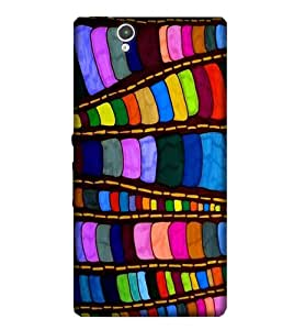 Sony Z1 Attractive Multicolor HD print back cover90