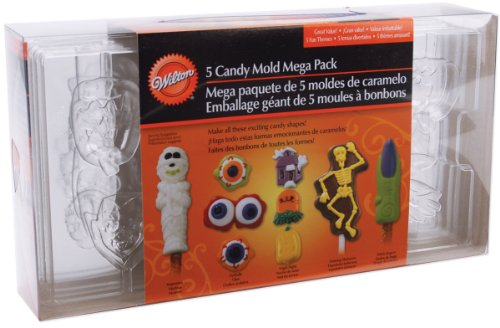 Wilton W4430 Candy Mold 5/Pkg