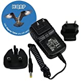 HQRP Compact Wall AC Adapter compatible with Panasonic VDR-D150EG VDR-D150EP VDR-D152EG VDR-D200 VDR-D210 PV-GS32 Camcorder plus HQRP Coaster