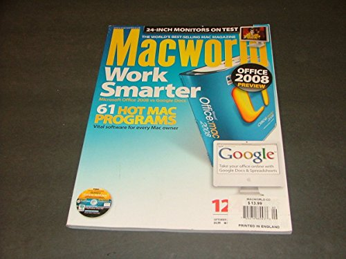 MacWorld Mag September, 2007