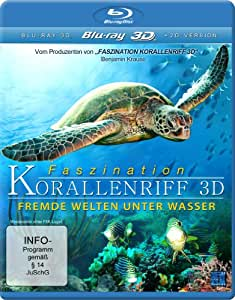 Faszination Korallenriff 3D - Fremde Welten unter Wasser (3D Version inkl. 2D Version & 3D Lenticular Card)   [3D Blu-ray]