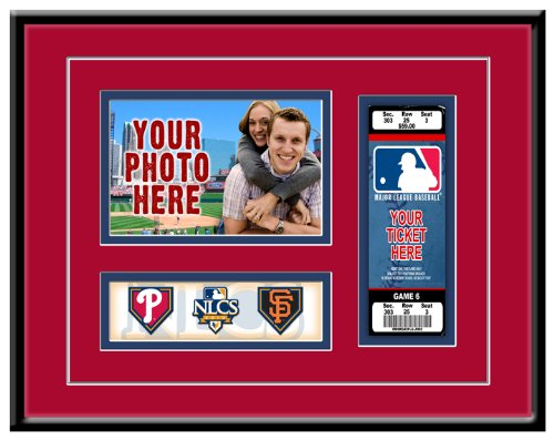 MLB Philadelphia Phillies 2010 NLCS Photo and Ticket Frame at Amazon.com