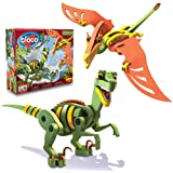 Bloco Toys  The Velociraptor and Pterosaur Construction Set