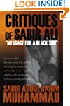 "Critiques of Sabir Ali: ""Message for..."