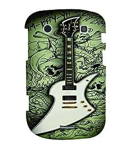 PrintVisa Music Guitar Quotes 3D Hard Polycarbonate Designer Back Case Cover for Blackberry 9900