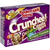 Kedem Kids Breakfast Cereal Bars, Crunchee Cookie Crisp Cereal Bars, 8-Count 5.1-Ounce Boxes (Pack Of 6)