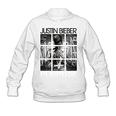 Namii Women's Justin Bieber Purpose Tours Sweater White