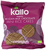 Kallo Organic Milk Chocolate Rice Cake Bites (Pack of 3)
