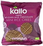 Kallo Organic Milk Chocolate Rice Cake Bites (Pack of 3)