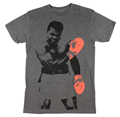 muhammad ali text fill graphic t shirt x large sporting. Black Bedroom Furniture Sets. Home Design Ideas